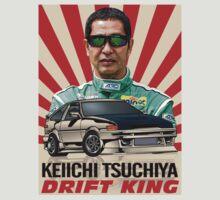 Keiichi Tsuchiya by asatilla
