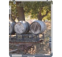 Old Barrels iPad Case/Skin