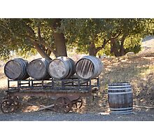 Old Barrels Photographic Print