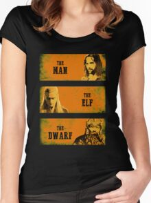 The Man The Elf The Dwarf Women's Fitted Scoop T-Shirt
