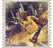 Kobe Postage by BaseballBacks