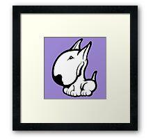 Odie English Bull Terrier Framed Print