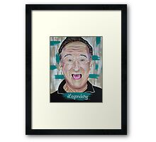 Robin Williams: Legendary  Framed Print