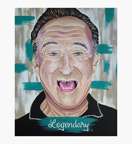 Robin Williams: Legendary  Photographic Print