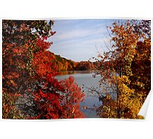 Fall in the Hudson Valley Poster