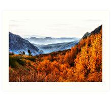 Eastern Sierras Art Print