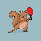 Ferocious Squirrel by LucyOlver