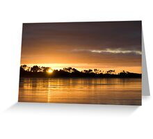 Waratah Bay Sunrise  - Victoria - Australia Greeting Card
