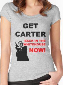 Get Carter! Women's Fitted Scoop T-Shirt