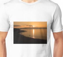 Sunset At Cune Beach Unisex T-Shirt