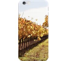 Fall in Sonoma Valley iPhone Case/Skin