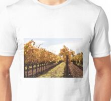 Fall in Sonoma Valley Unisex T-Shirt