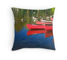 Waiting For a Ride © Throw Pillow
