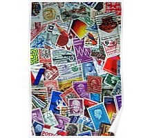 Global Stamps Poster