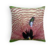 Fly In The Trap Throw Pillow