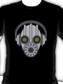 Gasmask Robot Head T-Shirt
