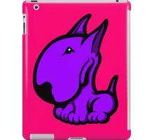 Odie English Bull Terrier Purple  iPad Case/Skin