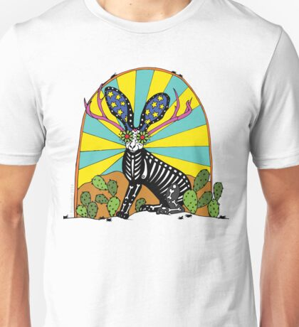 The Mythical Texas Jackalope Unisex T-Shirt