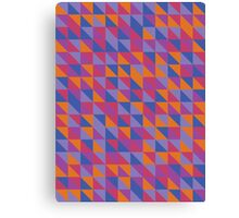 Hot 90's Pattern Canvas Print