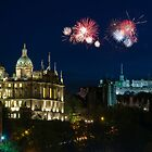 Bank of Scotland Fireworks 2008 by tayforth