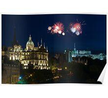 Bank of Scotland Fireworks 2008 Poster