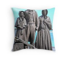 Respect each other, for we are all Emigrants Throw Pillow