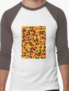 """Monarch"" Pattern v1 Men's Baseball ¾ T-Shirt"