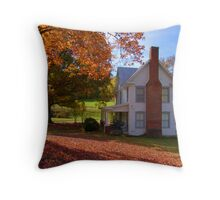 Mountain Farmstead Throw Pillow