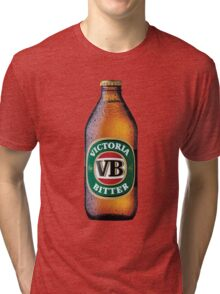 VB Beer Bottle Tri-blend T-Shirt