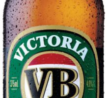 VB Beer Bottle Sticker