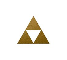 Legend of Zelda Gold Triforce by shorouqaw1