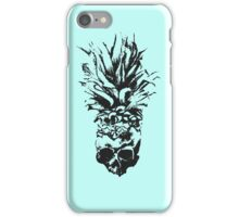 Skull Pineapple Grunge Case iPhone Case/Skin