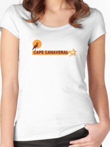 Cape Canaveral. Women's Fitted Scoop T-Shirt
