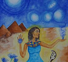 The Goddess Isis by Asha Hawkesworth