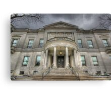 Speaker Matthew J. Ryan Building Canvas Print
