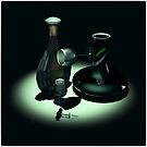 Bottle and Carafe by andreisky
