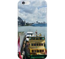A Busy Harbour iPhone Case/Skin