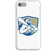 Hercules Lion Skin Wield Club Shield Retro iPhone Case/Skin