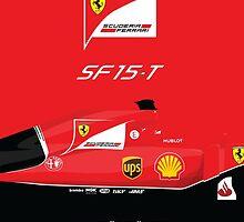 2015 Formula 1 Scuderia Ferrari SF15-T by ApexFibers
