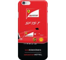 2015 Formula 1 Scuderia Ferrari SF15-T iPhone Case/Skin