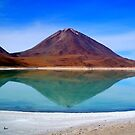 The Beauty of Nature ~ Volcano Reflection by Honor Kyne