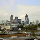 London Skyline 2 by karenlynda