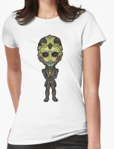 Mass Effect - Thane Krios Drell Assassin Chibi Sticker Womens Fitted T-Shirt