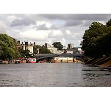York from the Ouse Photographic Print