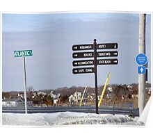 Weekapaug, Rhode Island - Winter 2015 - 3 Poster