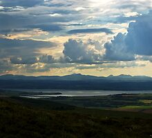 Looking to Inch Island, County Donegal by Agnes McGuinness