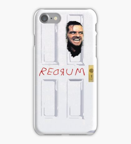 The Shining Redrum iPhone Case/Skin