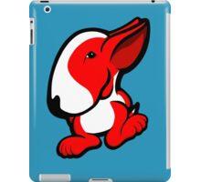 English Bull Terrier Stroll Red iPad Case/Skin