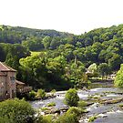 LLangollen river view by karenlynda