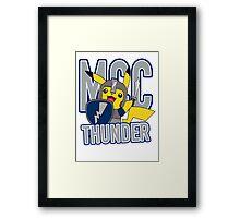 MCC THUNDER Framed Print